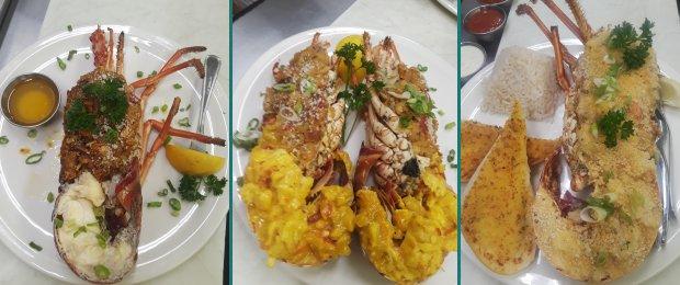 Stuffed Caribbean Lobster